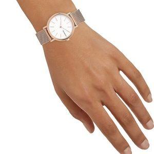SKAGEN Signature Slim Rose Gold Watch | NWT
